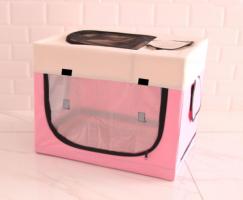 Сушилка - домик для собак и кошек, животных. Цвет розовый