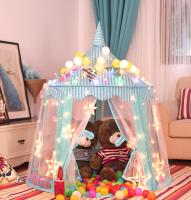Игровой домик палатка для ребенка 24op Sol. Синий