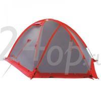 Tramp палатка Rock 4 (V2) серый