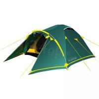 Tramp палатка Stalker 4 (V2) зеленый
