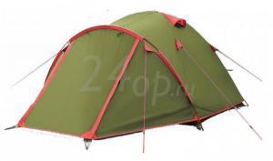 Tramp Lite палатка Camp 4 зеленый