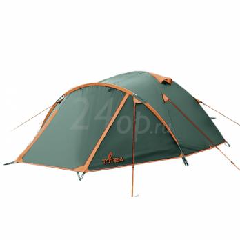 Tramp Totem палатка Indi 3 (V2) зеленый