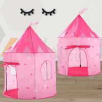 Игровая палатка домик Розовый замок. 24op