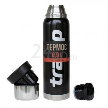 Tramp термос Expedition line 0,9 оливковый/ черный TRC-027