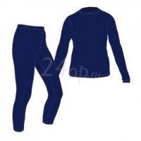 Купить Tramp термобелье комплект Fleece (синий) TRUF-001