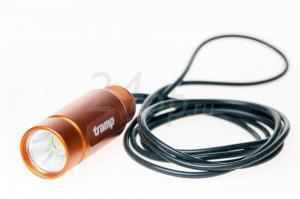 Купить Tramp фонарь-брелок на силиконовом шнуре (оранжевый)  TRA-183